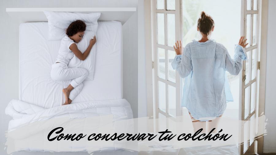 Conserva bien tu colchón para alargar su vida útil